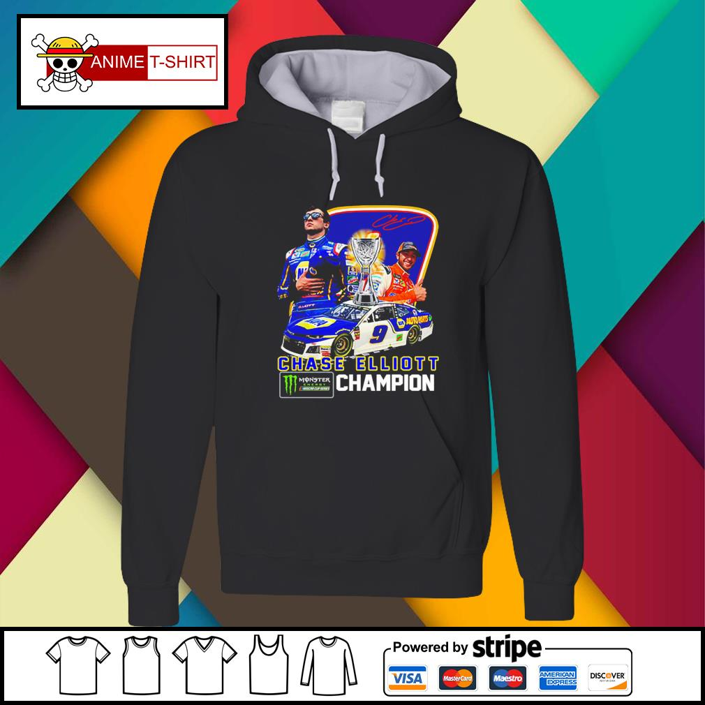 Chase Elliott championship victory signature Hoodie