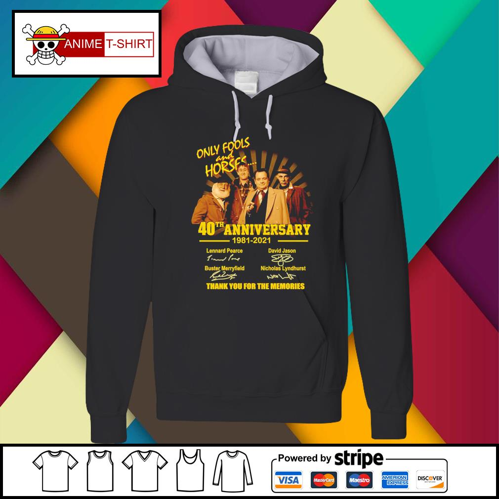 Only Fools and Horses 40th anniversary 1981 2021 signatures Hoodie