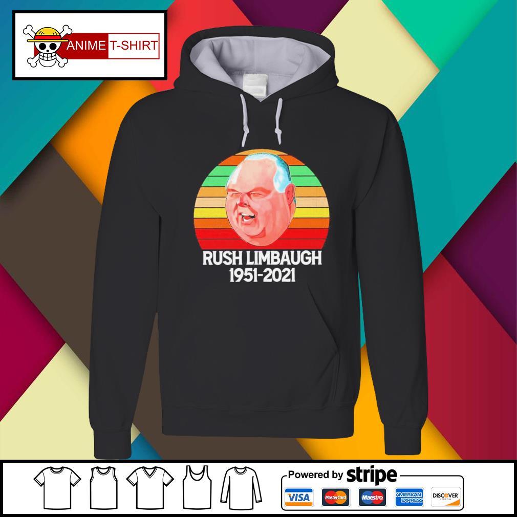 Rush Limbaugh 1951 2021 vintage Hoodie