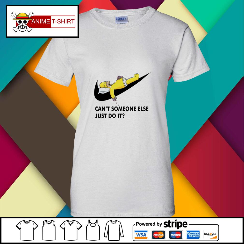 Simpson can't someone else just do it ladies-tee