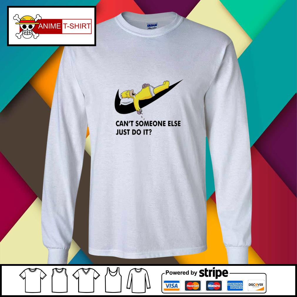 Simpson can't someone else just do it longsleeve-tee