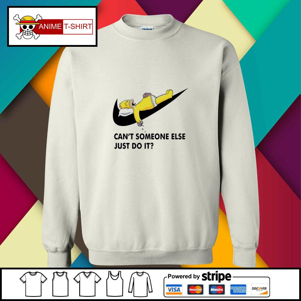 Simpson can't someone else just do it sweater