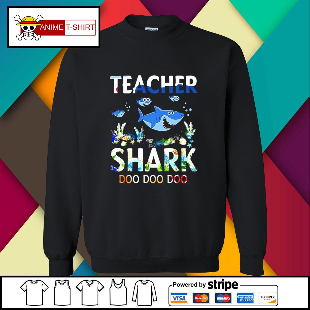 Teacher shark doo doo doo sweater