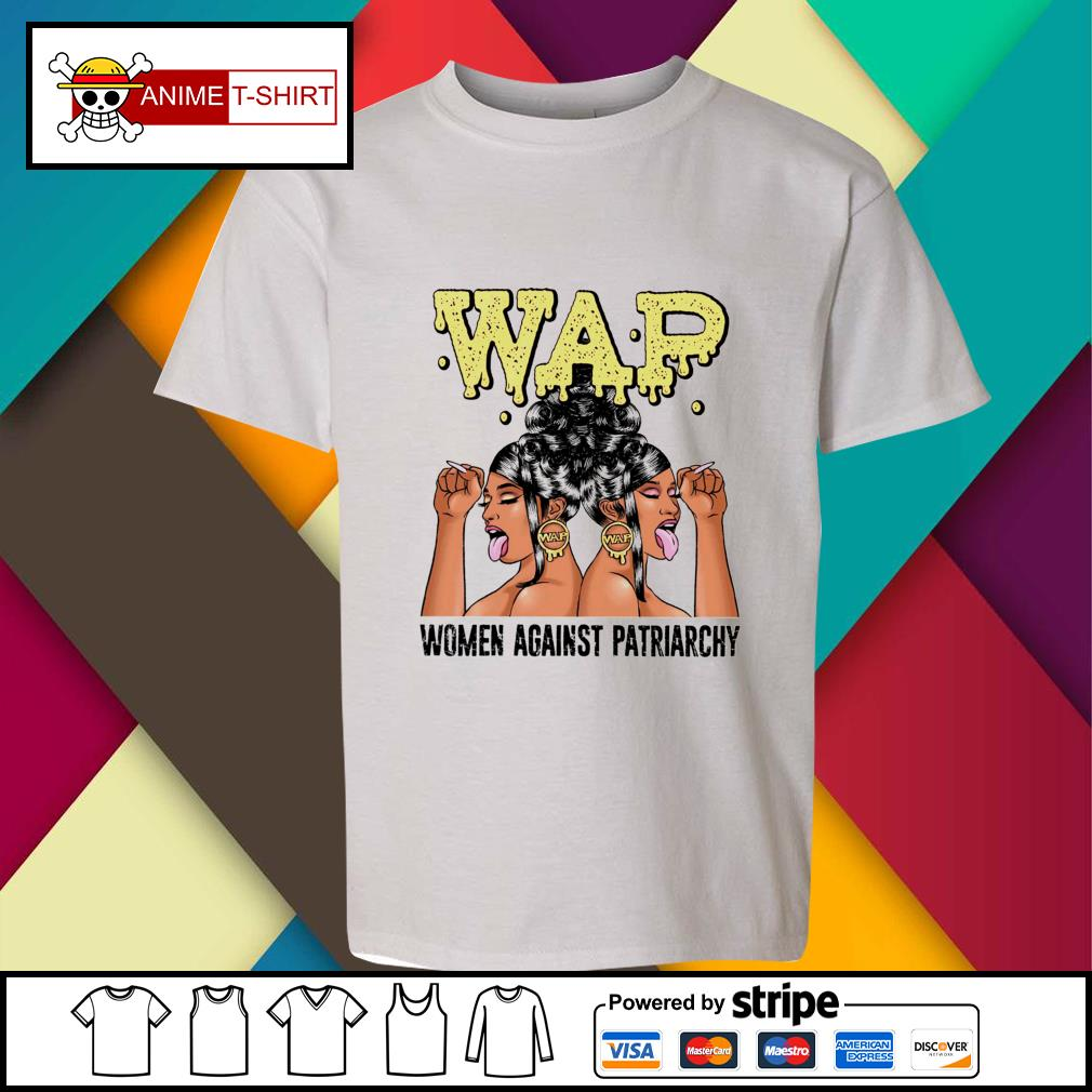 Wap woman against patriarchy youth-tee