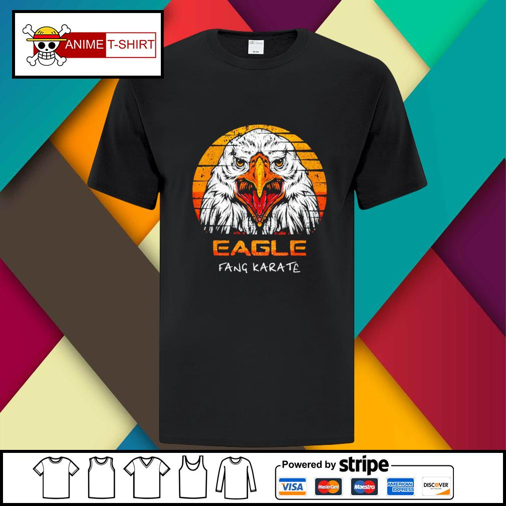 Eagle fang karate vintage shirt