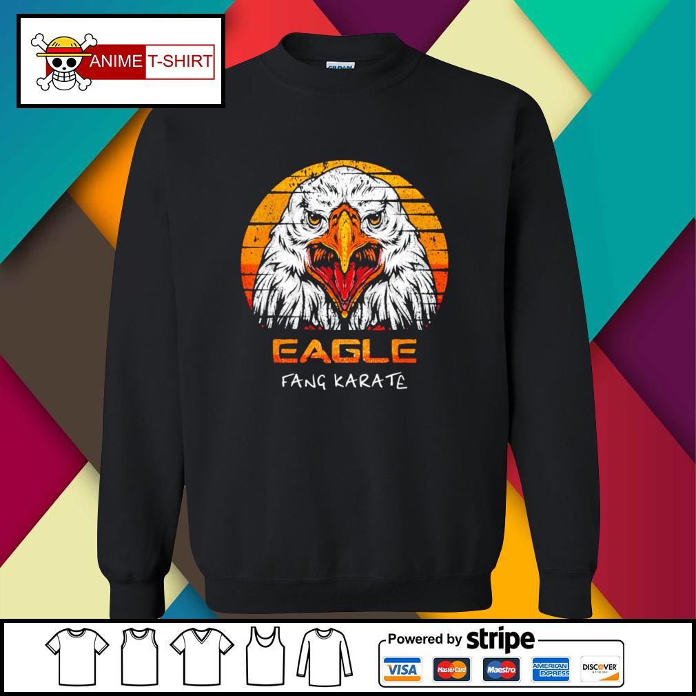 Eagle fang karate vintage sweater