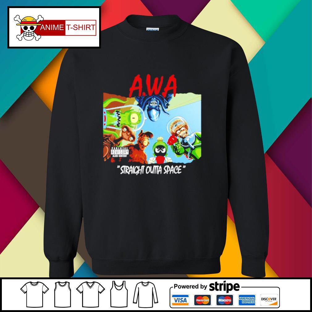 Awa straight outta space sweater