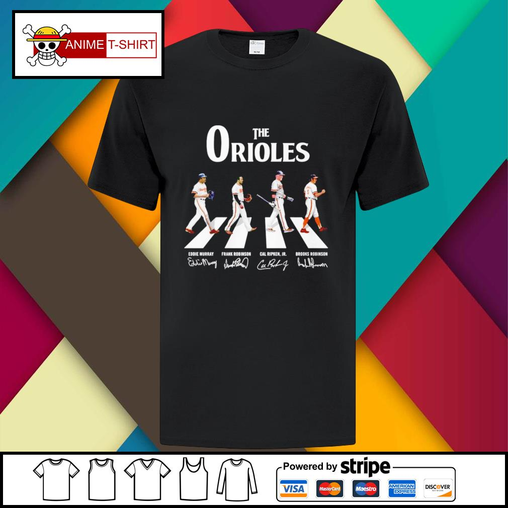 Baltimore Orioles Abbey the road signature shirt