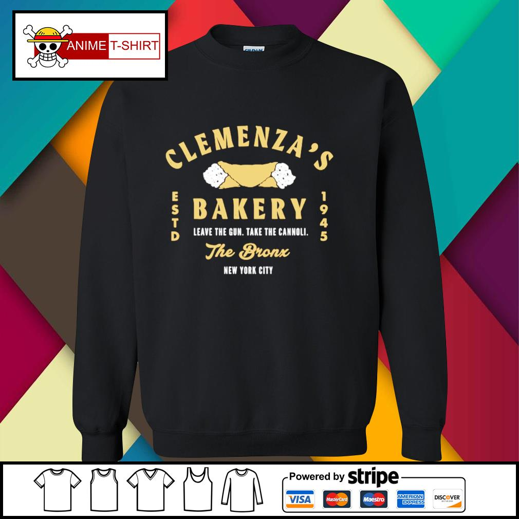 Clemenza's Bakery leave the gun take cannoli the bronx new york city 1945 sweater
