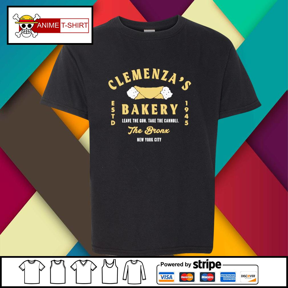 Clemenza's Bakery leave the gun take cannoli the bronx new york city 1945 youth-tee