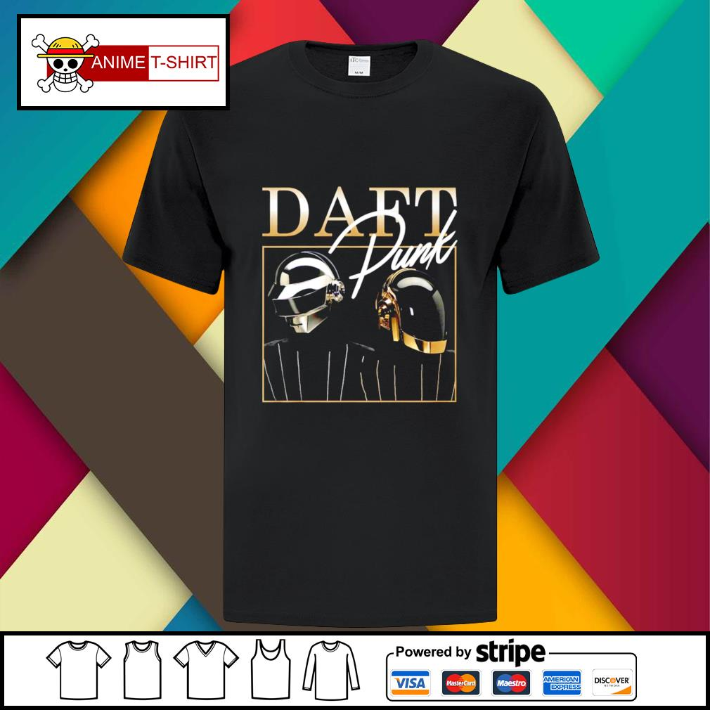 Daft Punk signature shirt