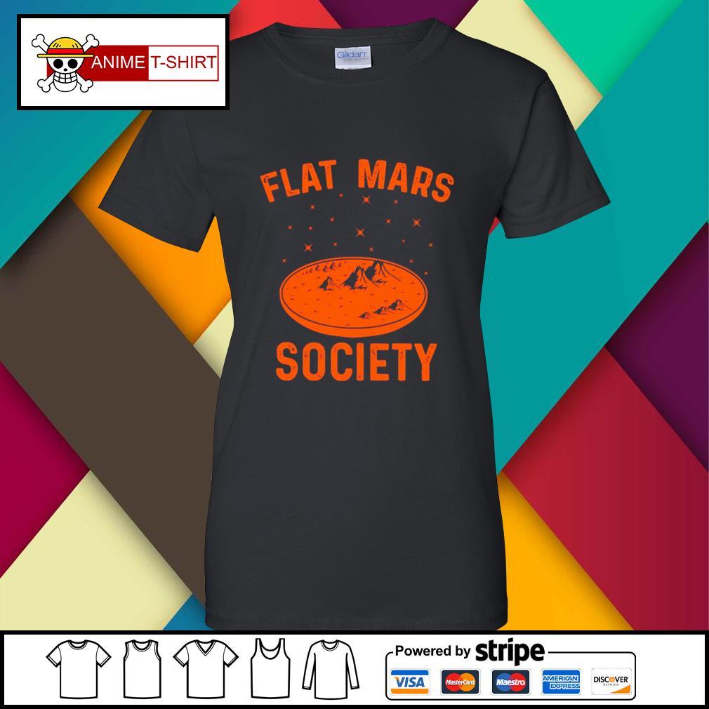 Flat Mars Society ladies-tee