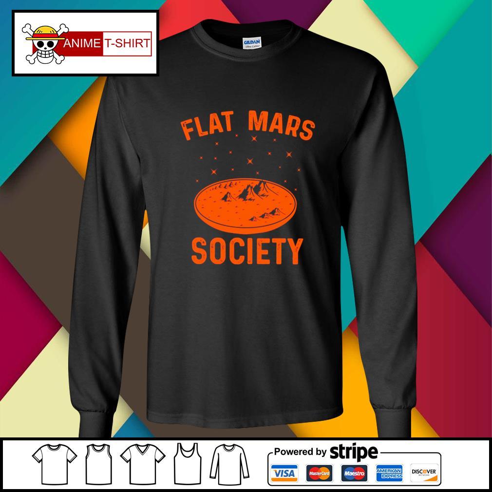 Flat Mars Society longsleeve-tee