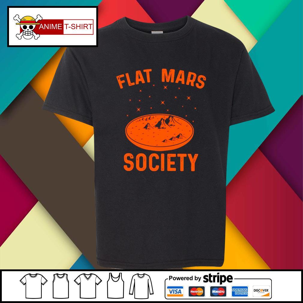 Flat Mars Society youth-tee
