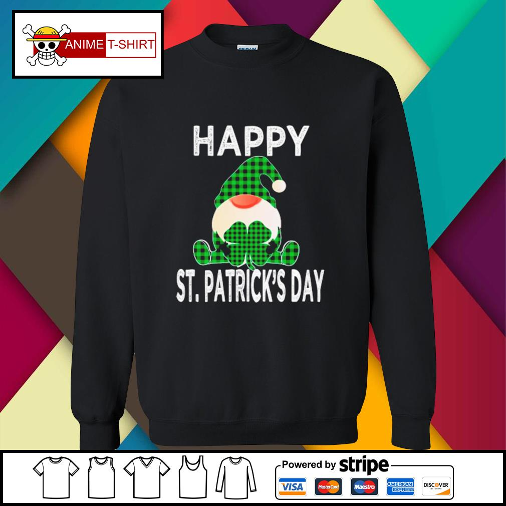 Gnomes Happy St. Patrick's Day sweater