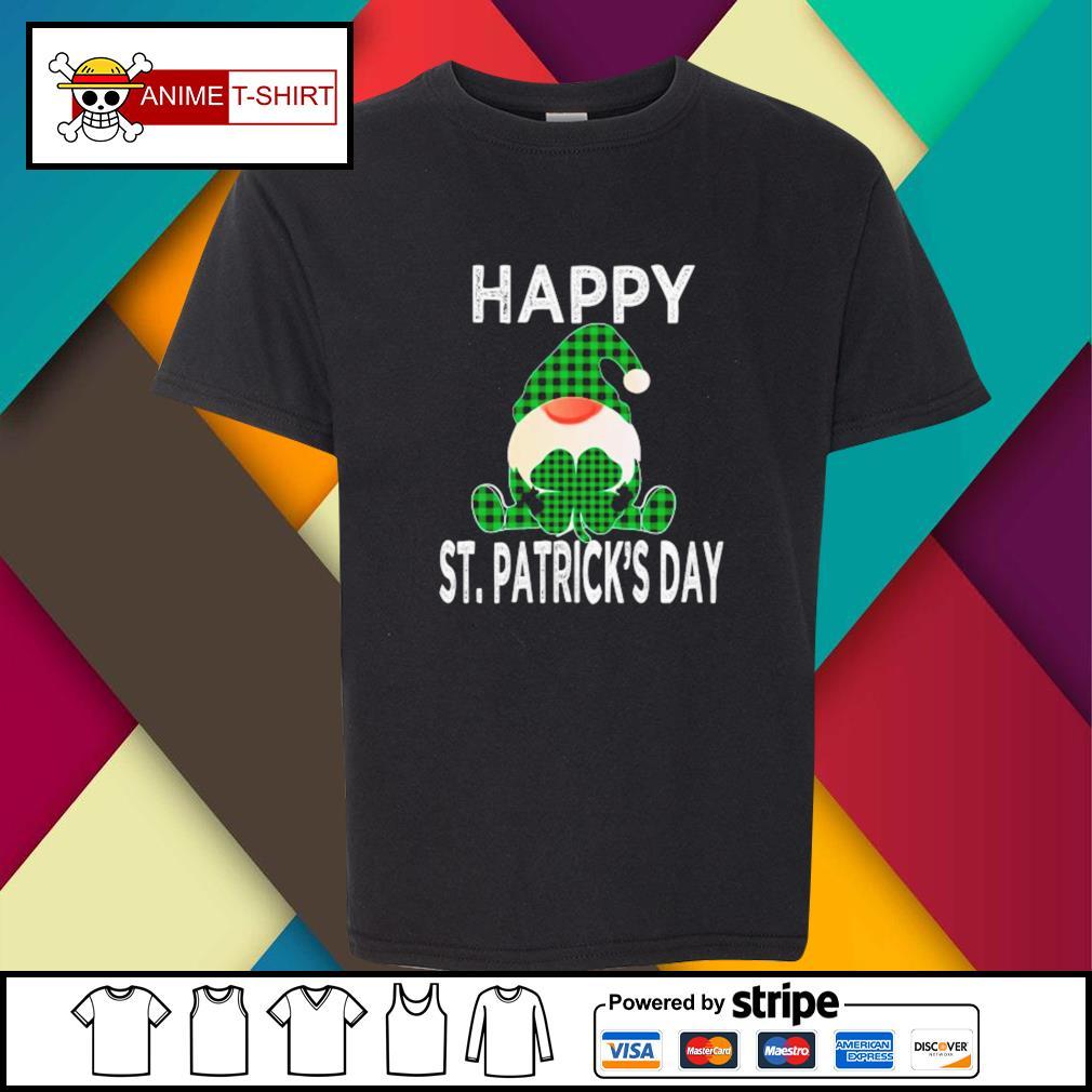 Gnomes Happy St. Patrick's Day youth-tee