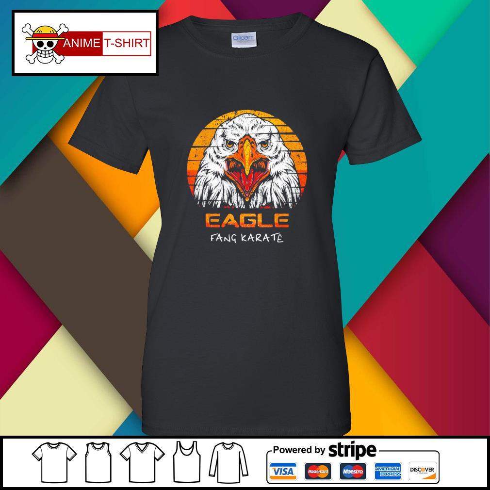 Eagle fang karate vintage ladies-tee