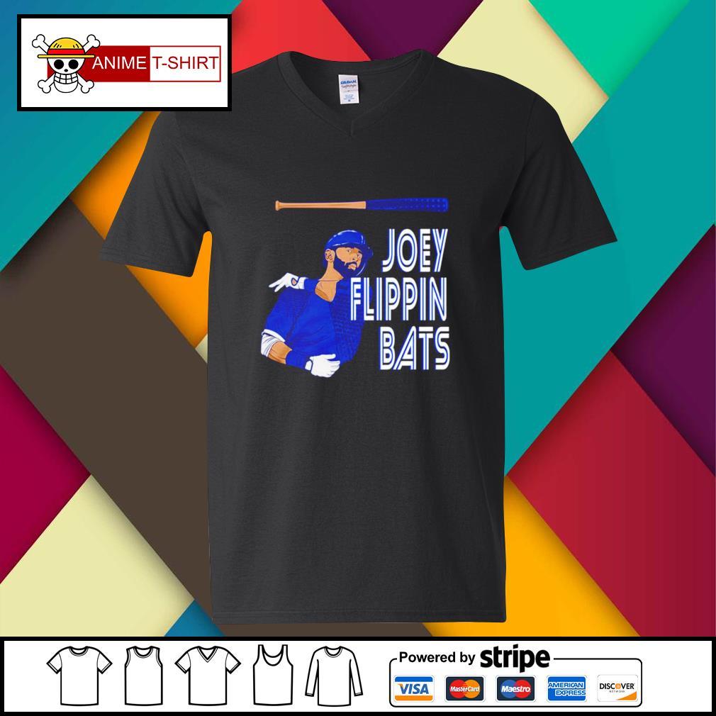 Joey Bautista flippin bats v-neck-t-shirt