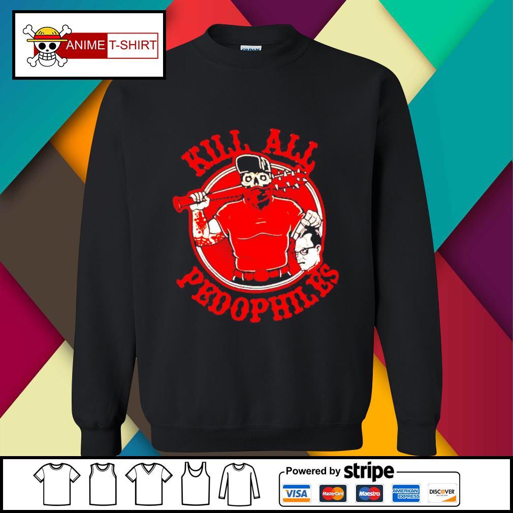 Kill all pedophiles sweater