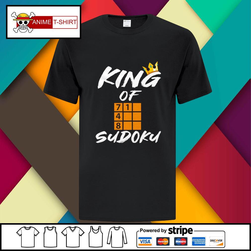 King of sudoku shirt