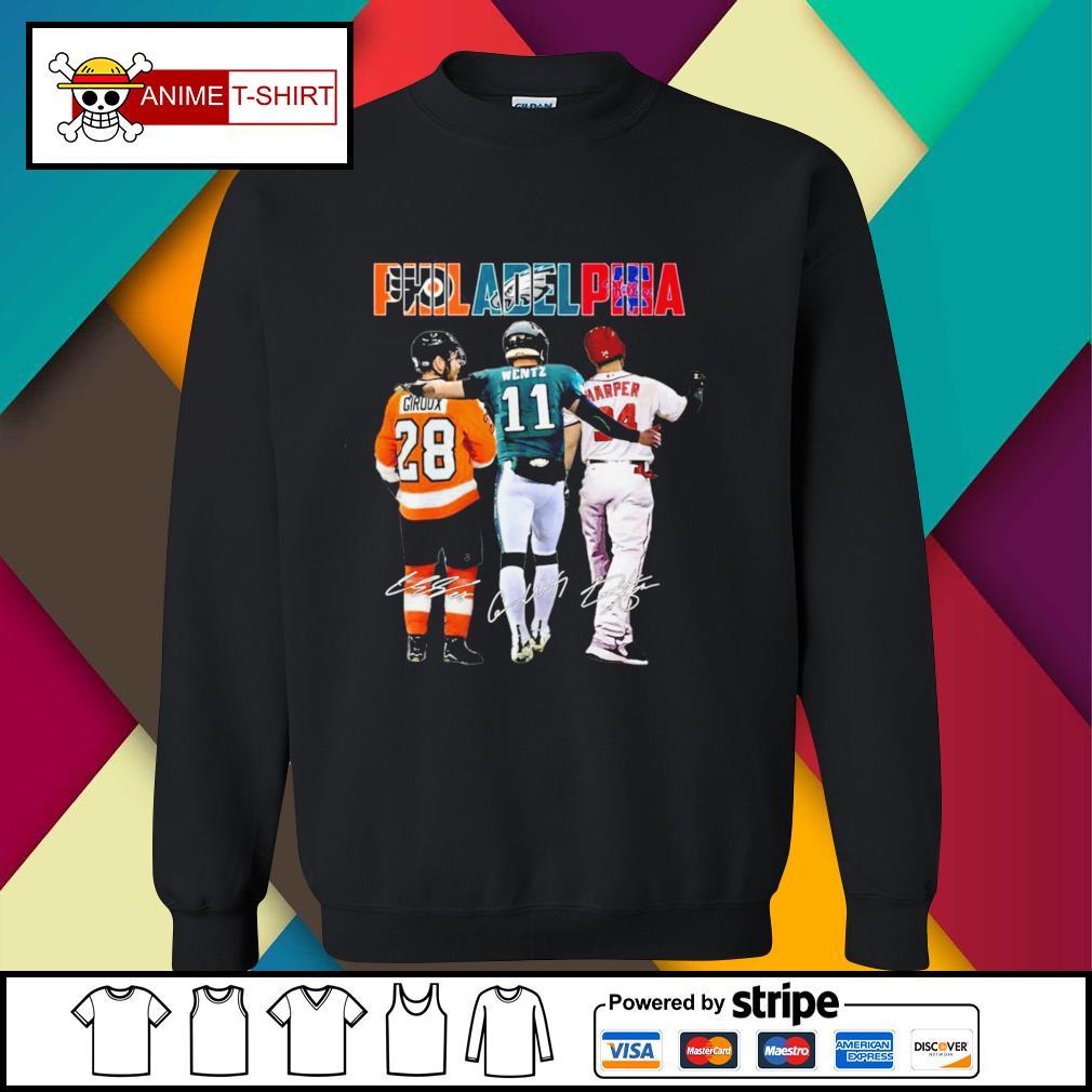 Philadelphia giroux Wentz harper signature sweater