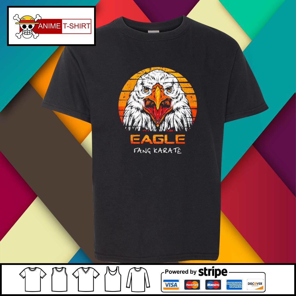 Eagle fang karate vintage youth-tee