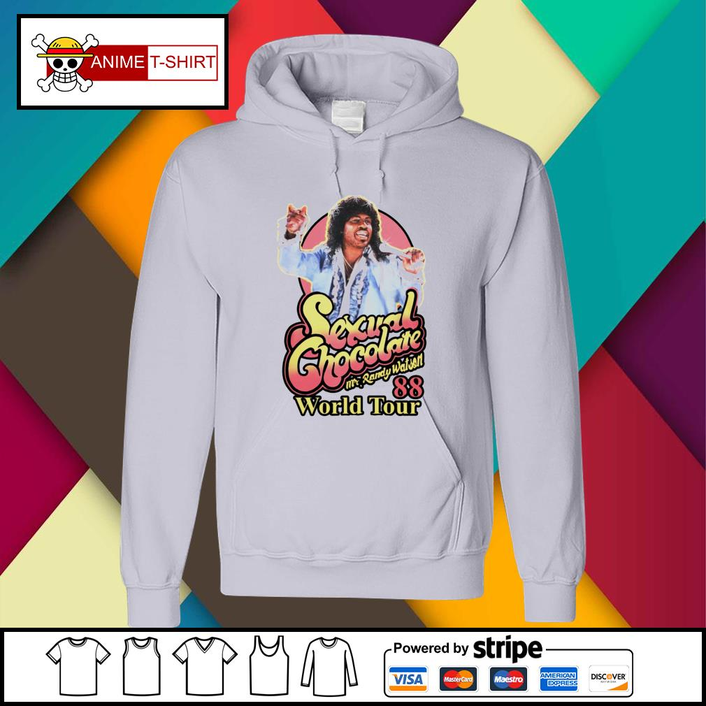 Sexual Chocolate Mr Randy Watson World Tour 88 hoodie