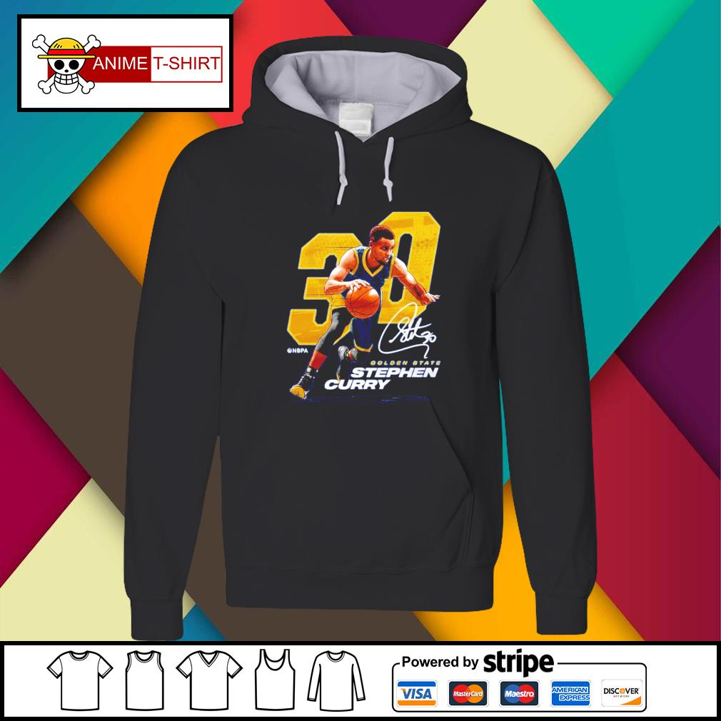 Stephen Curry Nbpa 30 golden state Stephen curry signature Hoodie