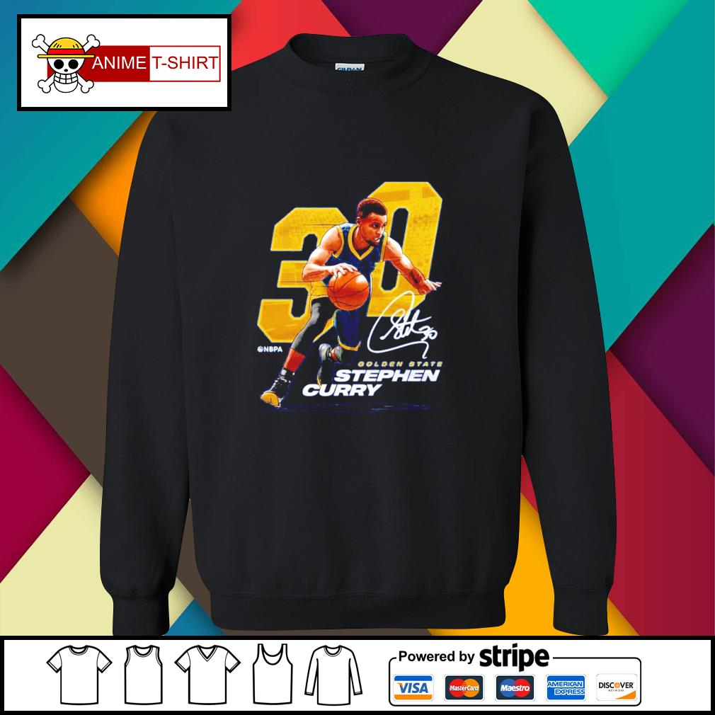 Stephen Curry Nbpa 30 golden state Stephen curry signature sweater