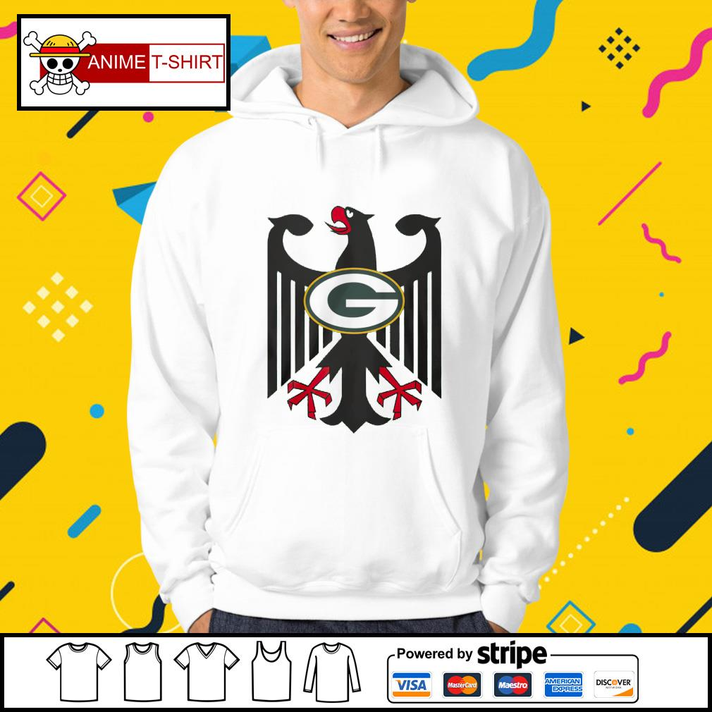 Coat of arms of Germany Green Bay Packers s Hoodie