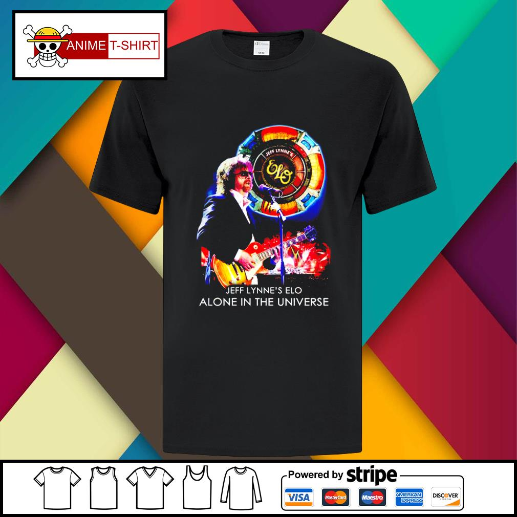 Jeff Lynne's Elo alone in the universe shirt