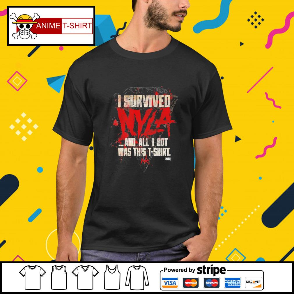 I survived and all I got was this t-shirt