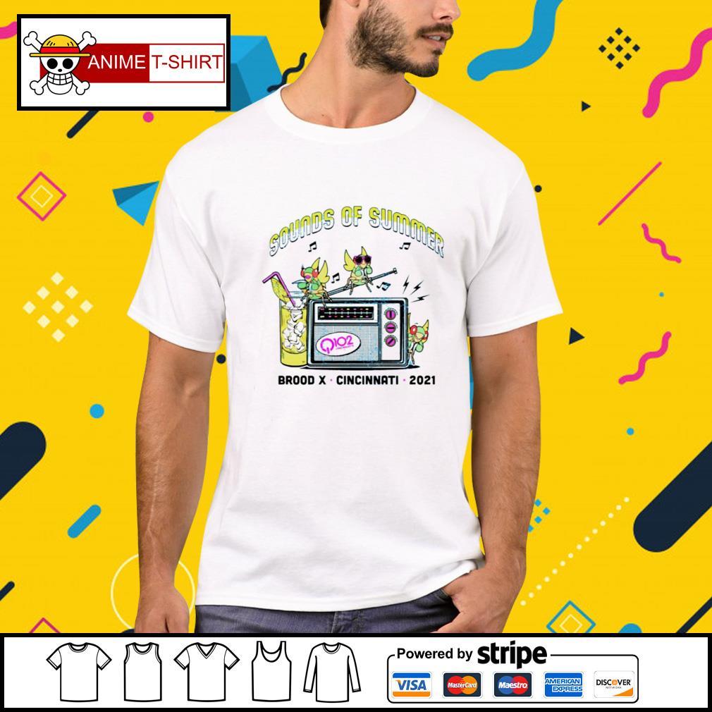 Sounds of summer brood x cincintati 2021 shirt