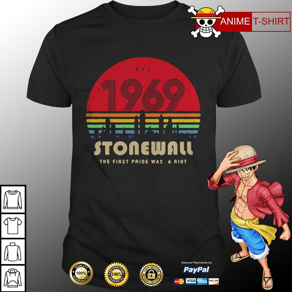1969 Stonewall the first fride was a riot shirt
