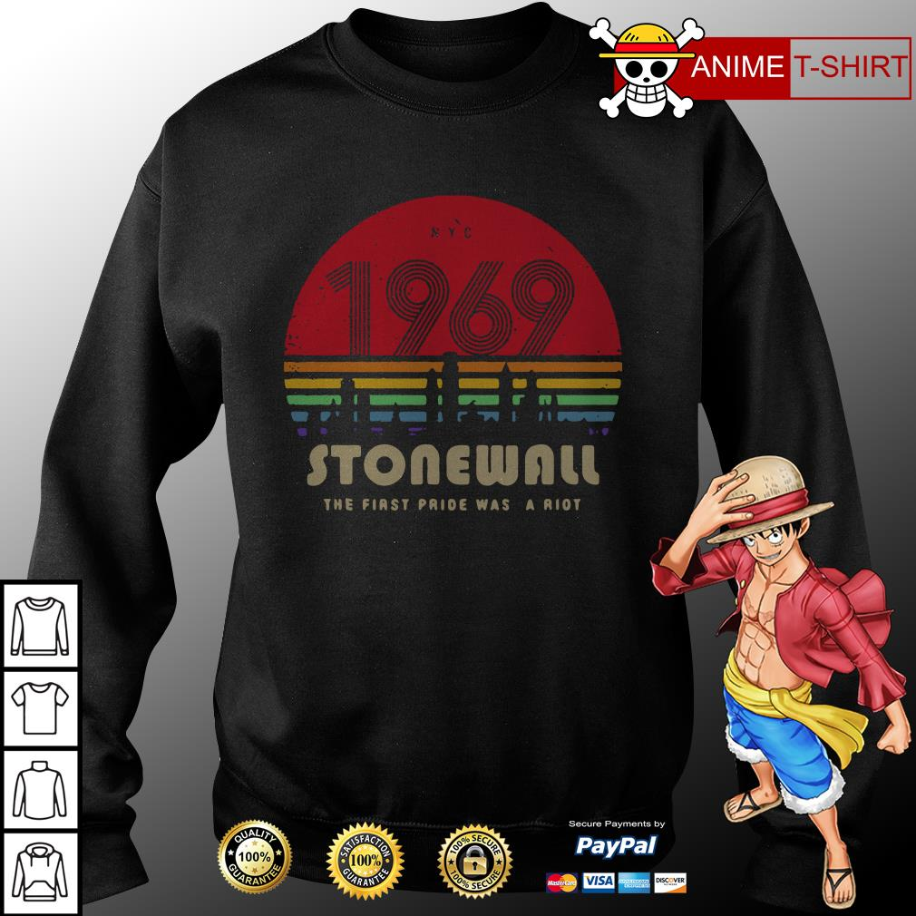 1969 Stonewall the first fride was a riot sweater