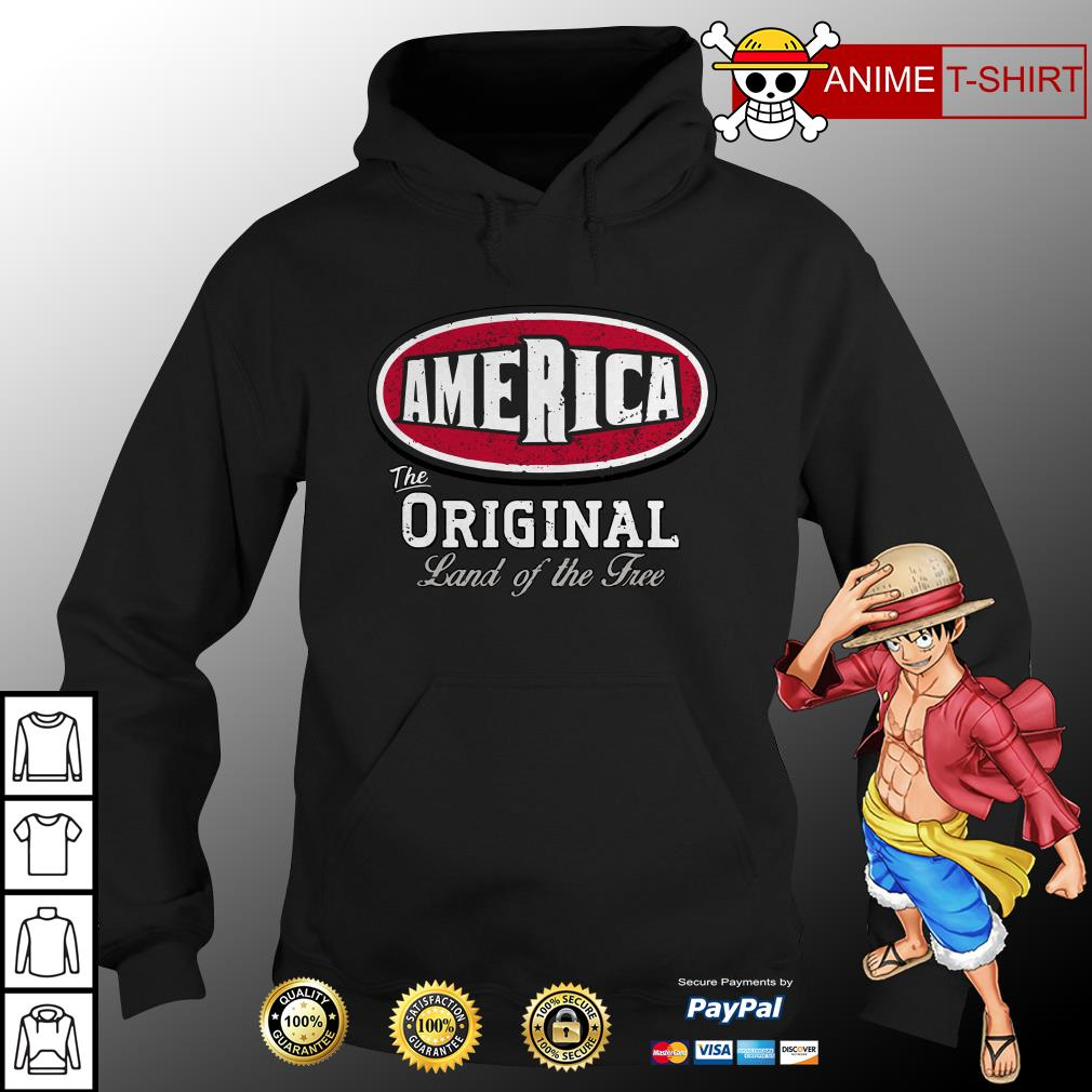 America the original land of the free hoodie