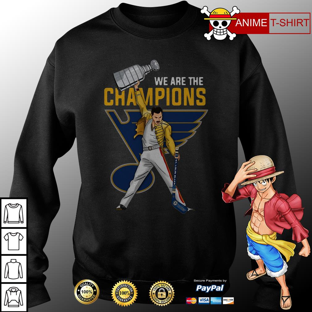 Freddie Mercury St. Louis We are the champions sweater