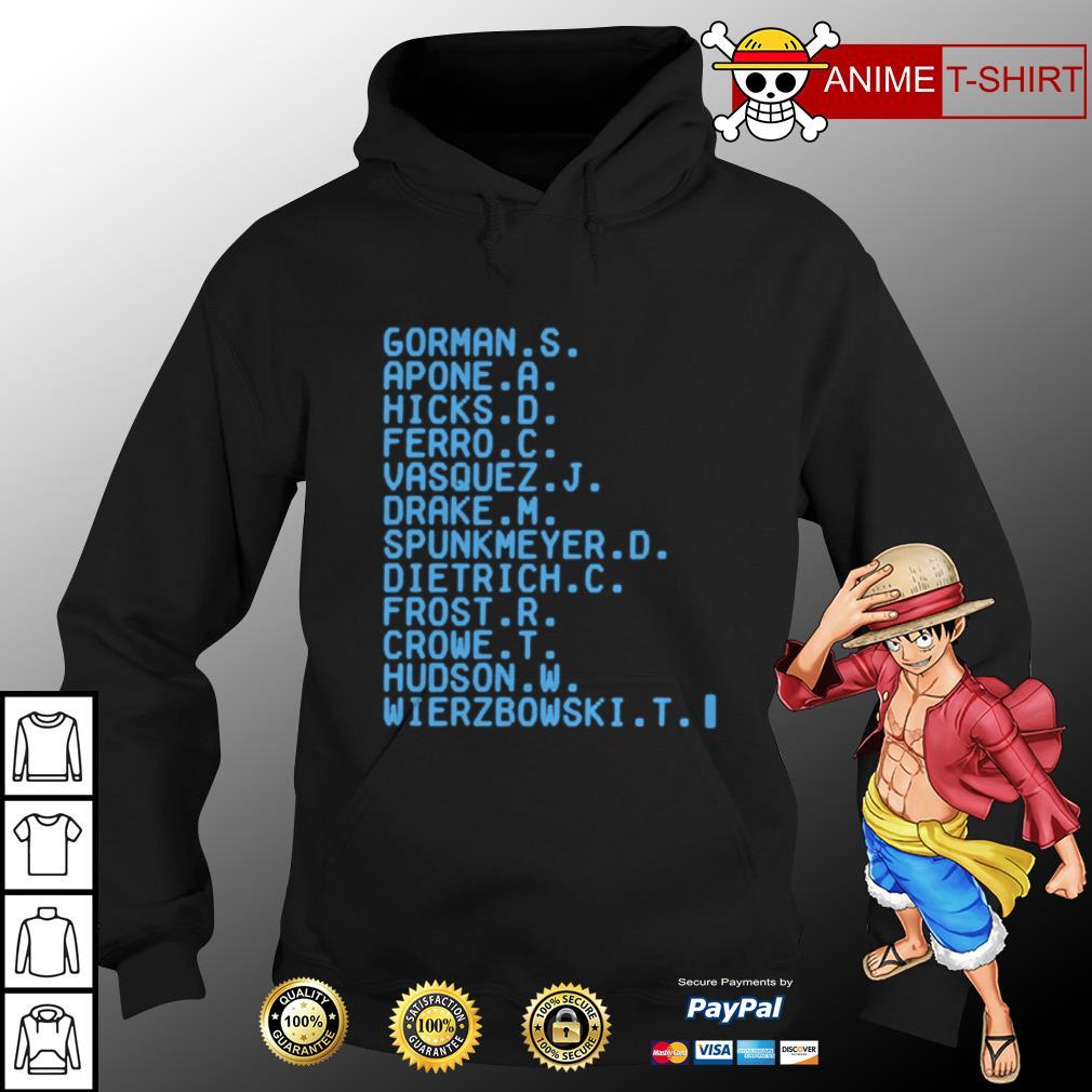 Gorman apone hicks ferro vasquez drake hoodie