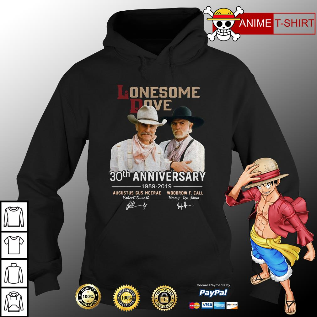 Lonesome Dove 30th anniversary signature hoodie