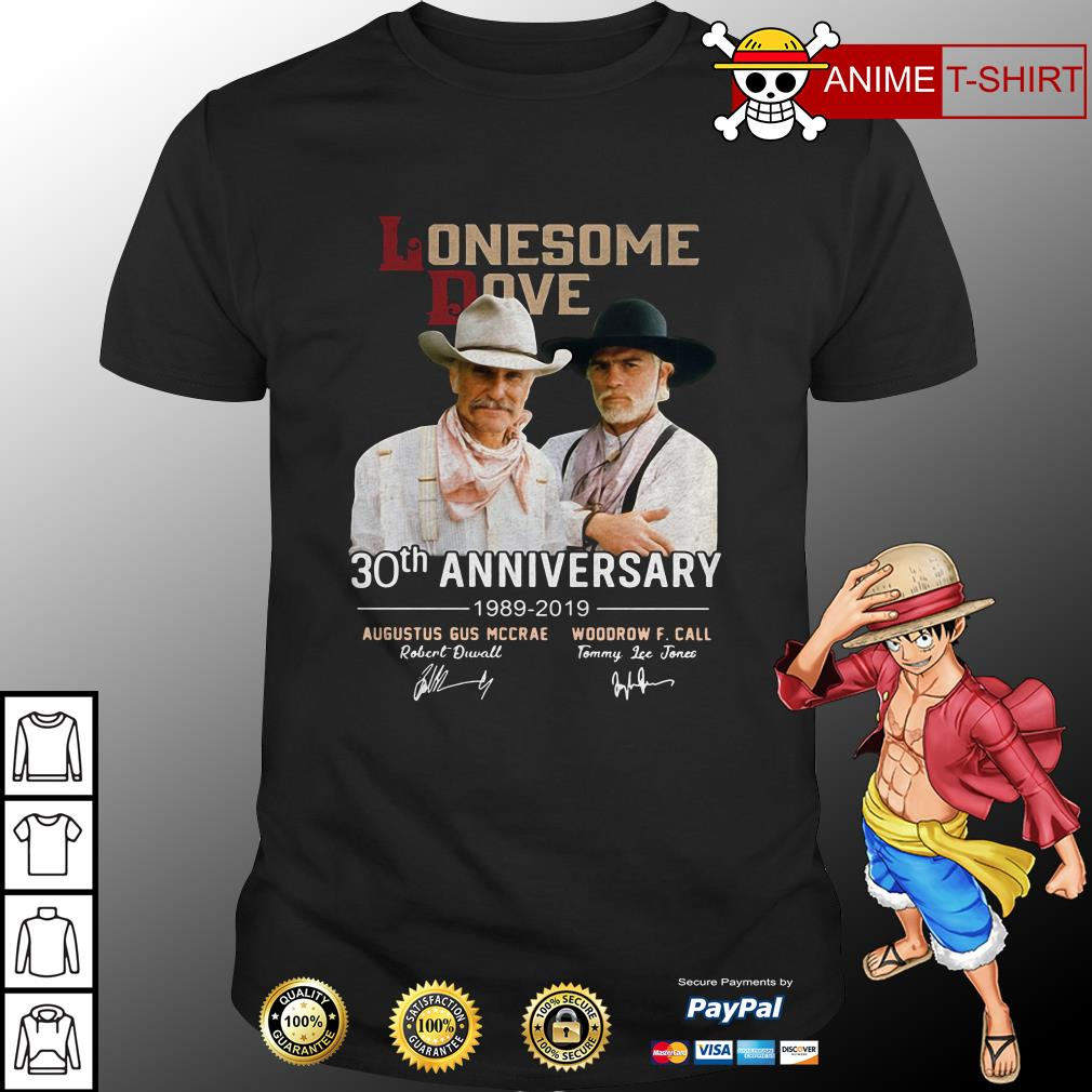 Lonesome Dove 30th anniversary signature shirt