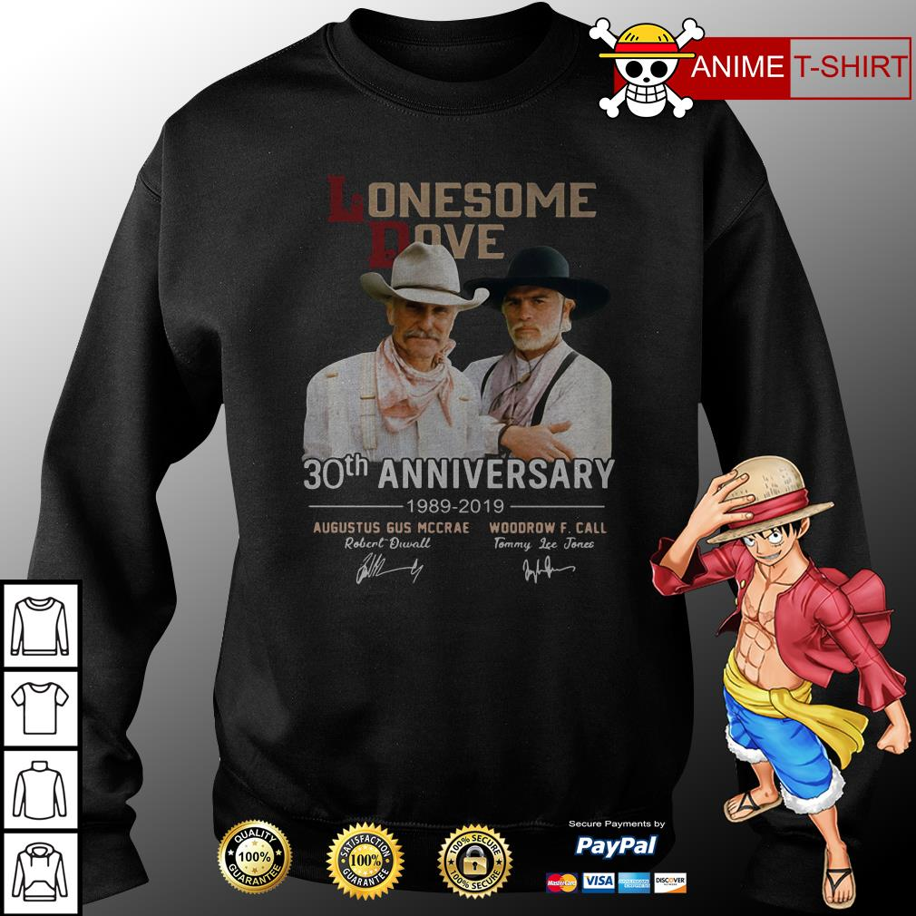 Lonesome Dove 30th anniversary signature sweater