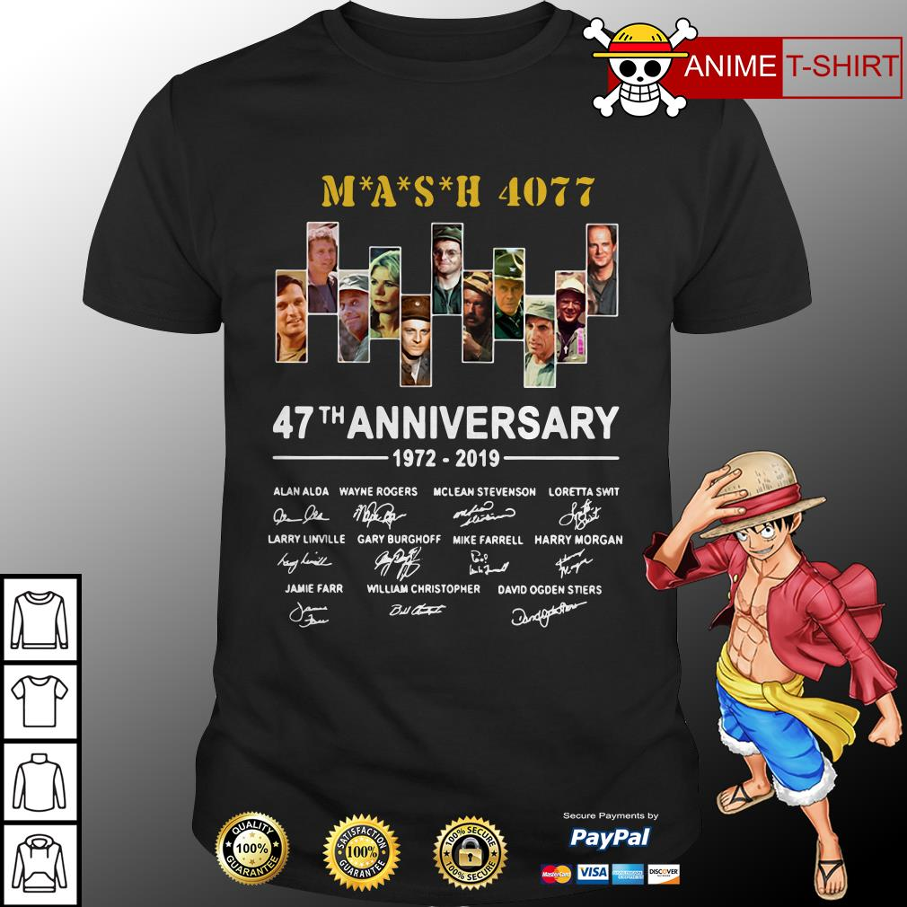 Mash 4077 47th anniversary 1972 2019 shirt