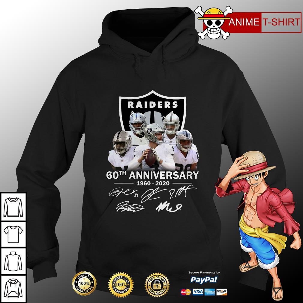 Raiders 60th Anniversary 1960 2020 hoodie