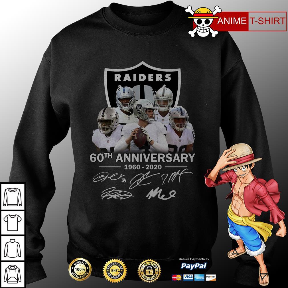 Raiders 60th Anniversary 1960 2020 sweater