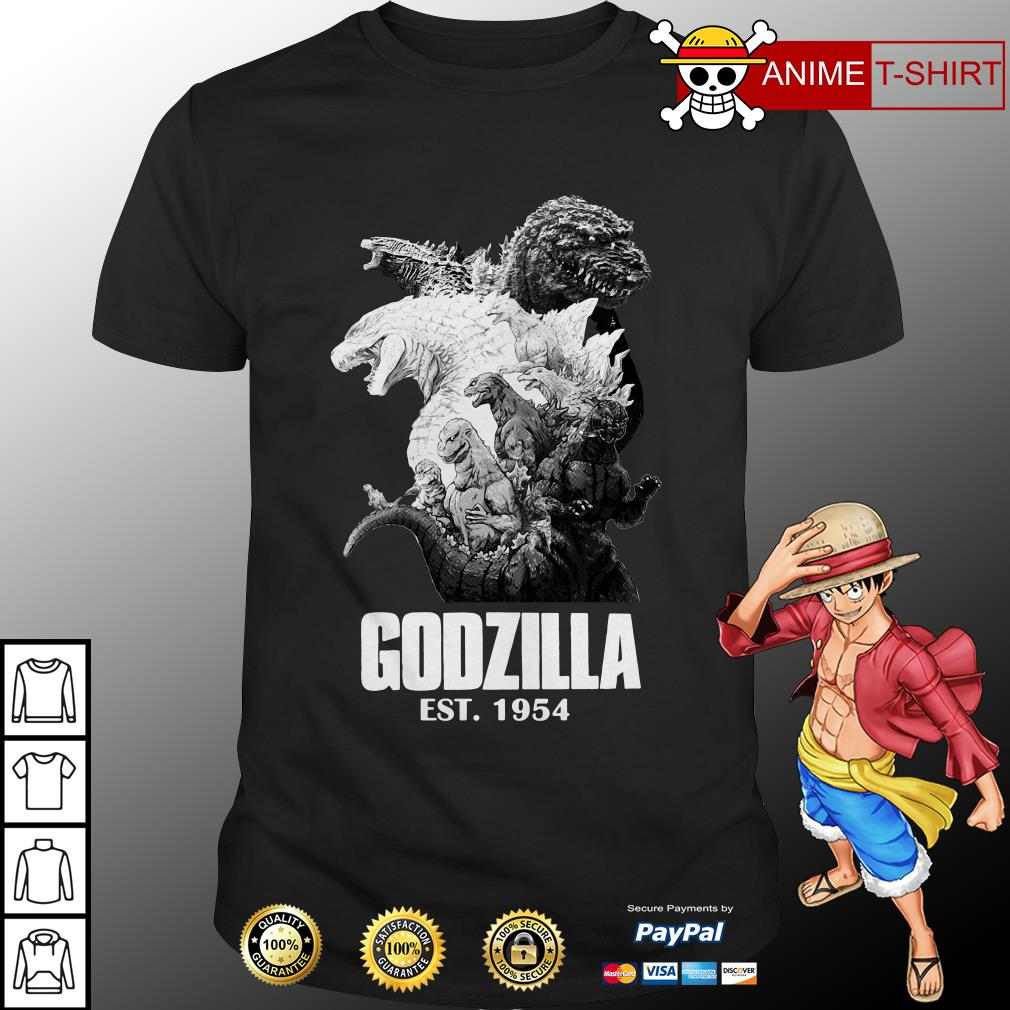 Top Godzilla EST. 1954 King of the Monsters shirt