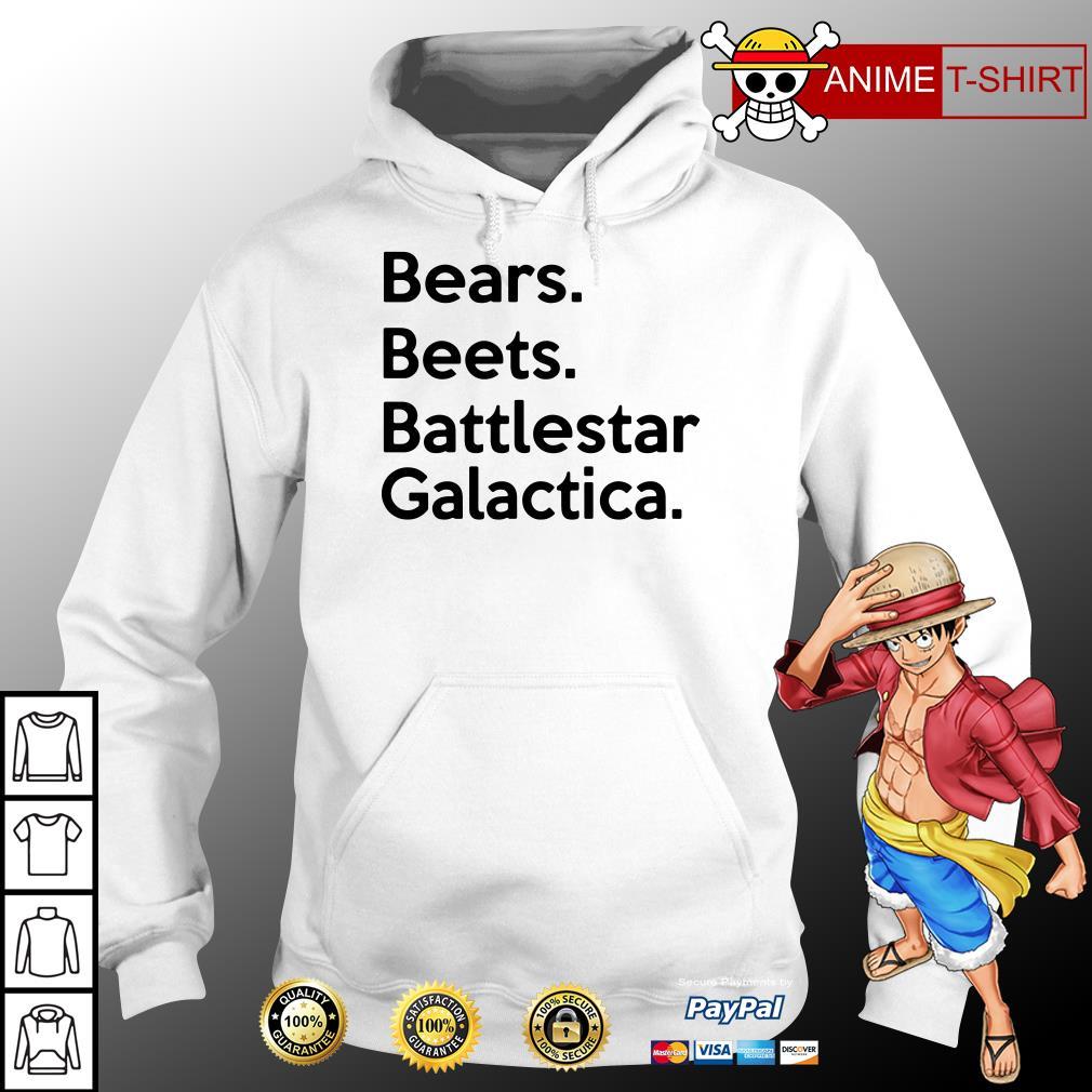 bears beets battlestar galactica hoodie