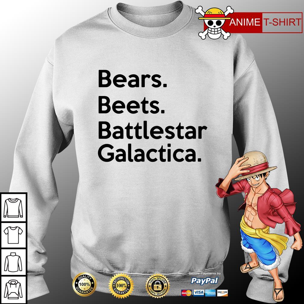 bears beets battlestar galactica sweater