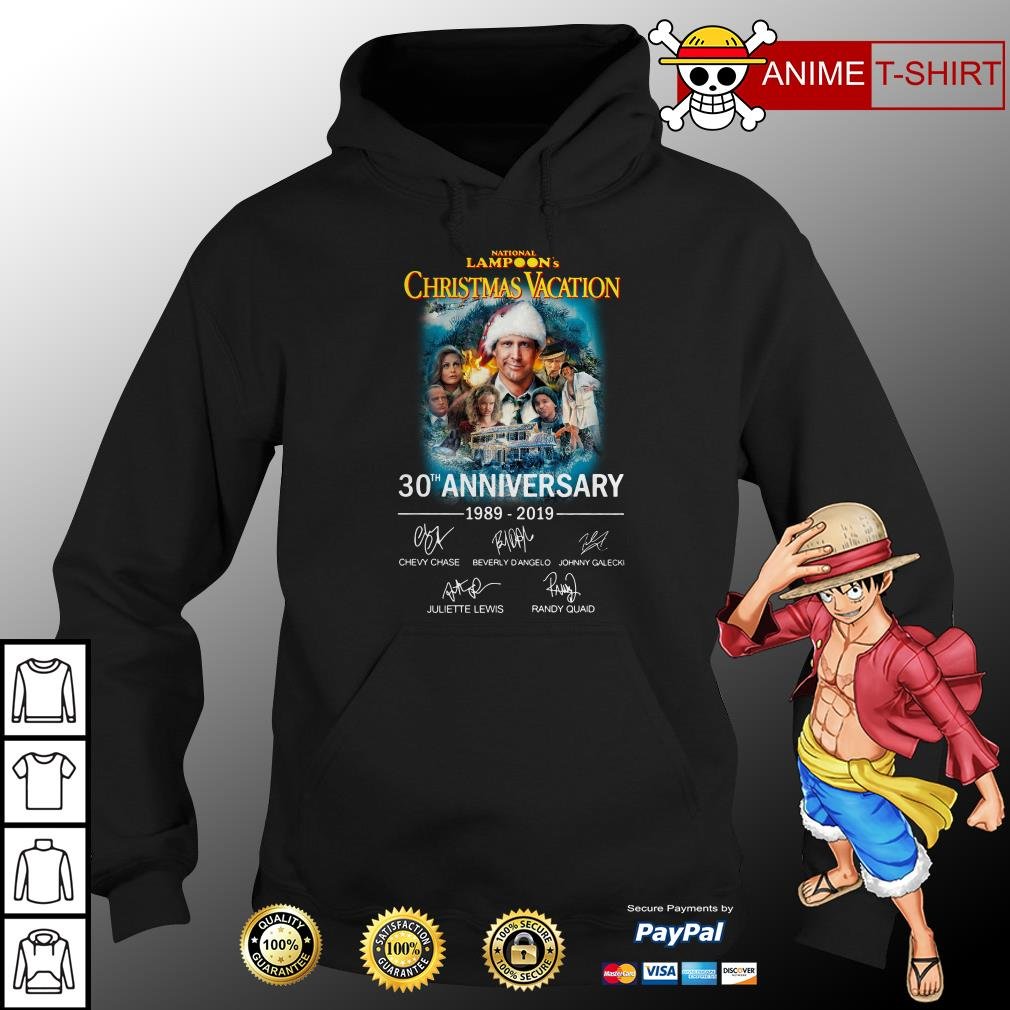 National Lampoon's Christmas Vacation 30th Anniversary 1989-2019 hoodie