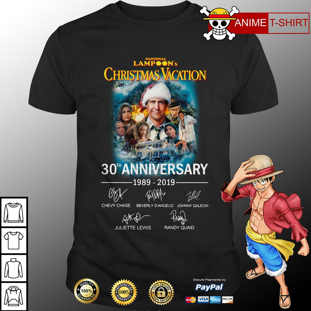 National Lampoon's Christmas Vacation 30th Anniversary 1989-2019 Shirt