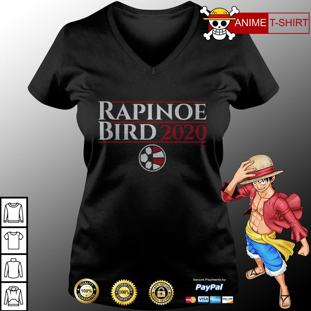 Rapinoe Bird 2020 v-neck t-shirt